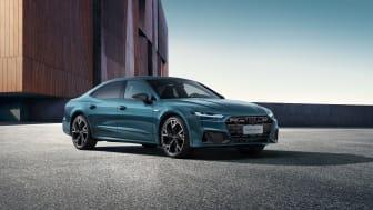 Audi A7L (Avalongrøn)