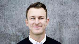 Jens Ringö, ny fastighetschef Rosengård Fastighets AB. Foto: Miriam Preis