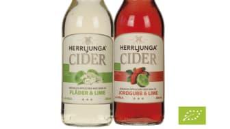 Herrljunga Cider lanserar två ekologiska cidersorter på Systembolaget!