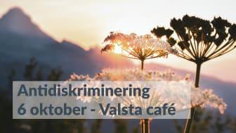 Delta i Skyddsvärnets webinarium om antidiskriminering den 6 oktober.