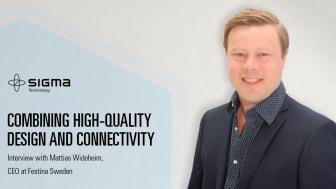 Mattias Wideheim, CEO at Festina Sweden