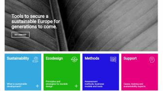 Sustainability Guides startsida