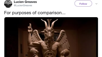 SOURCE:  Lucien Greaves (of The Satanic Temple) Twitter, https://twitter.com/LucienGreaves/status/1057418640243466242/photo/1