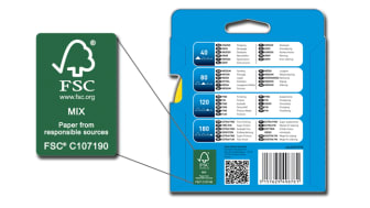 Saint-Gobain Abrasives ottaa käyttöön FSC-sertifioidun paperin joustavissa hiomatuotteissa