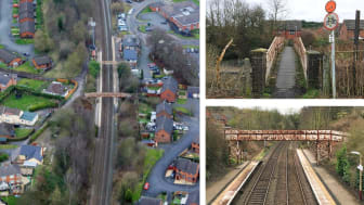 Major investment in footbridge at Shropshire station