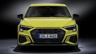 Audi S3 Sportback with Matrix LED headlights and digital daytime running lights