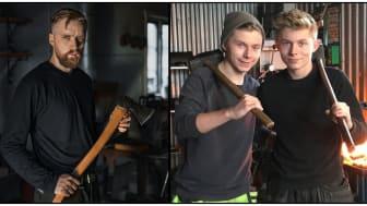 Nils Ögren VS Casper & Hampus Nilsson - Forged i Sverige - The HISTORY Channel