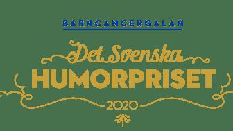 Stolt sponsor till Barncancergalan – det svenska humorpriset