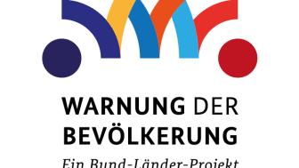 Logo: Warnung der Bevölkerung