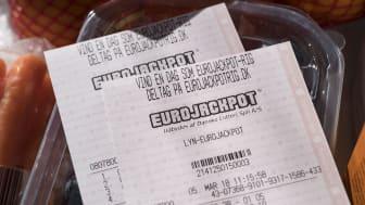 Dansker vinder 46 mio. kr. på 2. præmie i Eurojackpot - vanvidspuljen fortsætter
