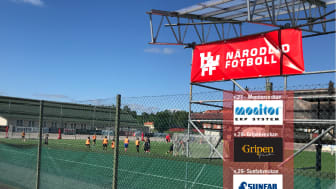 Gratis spontanfotboll för barn och ungdomar ca 10-15 år vecka 27-28-29-30, kl. 10-12 varje vardag