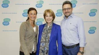 FARKOR: Andrea Graf, Christa Maar und Carsten Frederik Buchert (alle Felix Burda Stiftung)