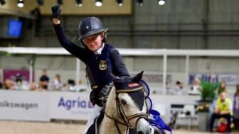 Finalen av den populära tävlingen Agria Pony Trophy går av stapeln under Jönköping Horse Show.