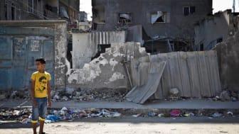100 miljoner kronor till barnen i Gaza