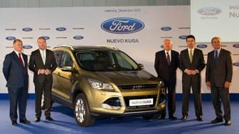 Uuden Ford Kugan tuotanto käyntiin Espanjassa