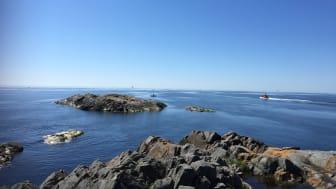 Östersjövy från Öja. Foto: Ann-Katrin Hallin, SLU