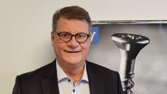 Hans Erup, kategorichef för produktområde infästning, Woody Bygghandel AB.