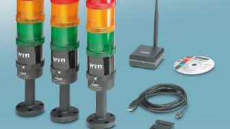 UL-listed signal column wireless system