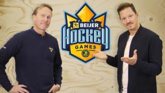 Beijer skapar egen hockeystudio - följer Tre Kronor exklusivt under Beijer Hockey Games