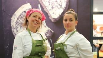 Lisa Lönner Pulkkinen och Linn Söderström, initiativtagare TakeOver
