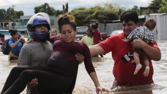 Honduras er nok det land, der er blevet hårdest ramt af Eta - og nu er endnu en orkan på vej mod området. Foto: Shutterstock