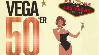 Spektakulært og farligt fristende program klar til VEGAs store 50'er fest – Las Vegas-style