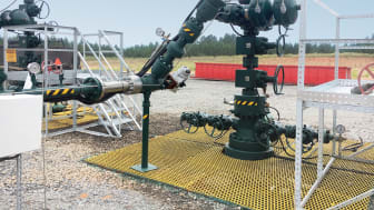The IQTF actuators will carry out modulating duties on shale gas wellheads in East Texas.