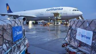 Lufthansa Cargo enables over 50 preighter flights for EgeTrans