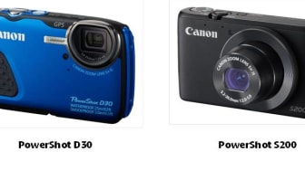 Ta et dypdykk i fotograferingen med Canons robuste PowerShot D30 og lommekameraet PowerShot S200