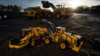 Volvo och LEGO-koncernen i samarbete för att skapa maskiner i miniatyr