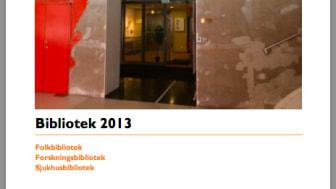 Många använder biblioteken utan att det syns i statistiken, Sveriges officiella biblioteksstatistik 2013