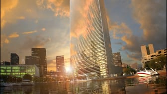 The high-rise buildings of the cities can offer a sustainable solution to urban food production