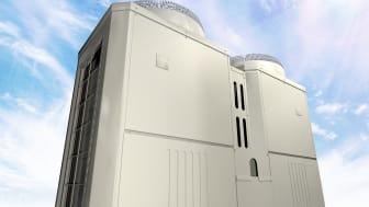 Mitsubishi Electrics hetvattenvärmepump levererar värme ner till -30˚C