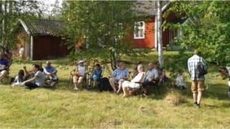 Friluftsgudstjänsten i Bäckegruvan tioårsjubilerar