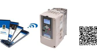 Två nya, användbara appar till Yaskawas frekvensomvandare