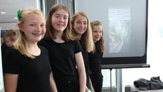 Med sitt produkt Klimahjelperen gikk elevene fra Skjønhaug skole i Trøgstad helt til topps i den nasjonale konkurransen SMART