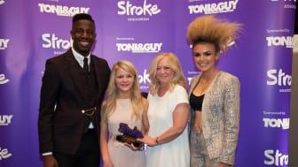 13 year old stroke survivor wins national courage award