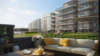 Pressinbjudan: Dags för första spadtaget för 39 lägenheter på Stenunge Strand