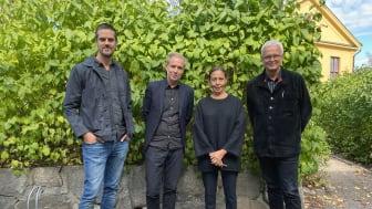 Daniel Byström, Jonas Olsson, Lisa Daram Westling och Mats Widbom