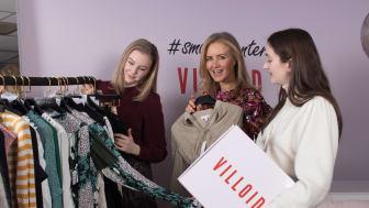 I samarbeid med Svosj og Helthjem lanserer Villoid pant på klær