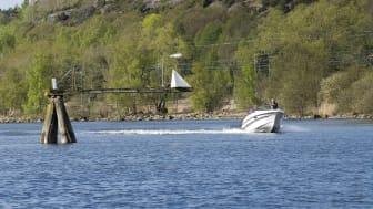 Göteborg får sitt vatten från Göta älv. Foto: Peter Svensson