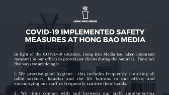Hong Bao Media - COVID-19 Measures