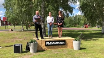 Utdelning av FM Mattsson stipendium 2017 & 2018