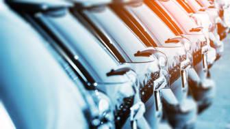 Antalet nyregistrerade bilar minskade med knappt 5 procent i oktober