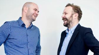 Sveinung Jørgensen og Lars Jacob Tynes Pedersen