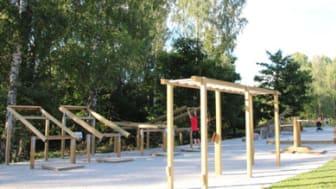 Alnängarnas utegym invigs 12 september, Örebro