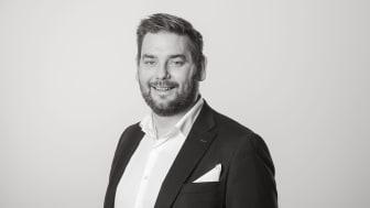 Peter Benjaminsson, ny Försäljningschef från 1 december