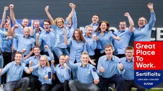 JYSK on Great Place to Work® -sertifioitu työpaikka
