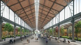 Die ZÜBLIN Timber GmbH ist mit den Holzingenieurbauleistungen für den Umbau des Gare Maritime, einem ehemaligen Güterbahnhof im Herzen von Brüssel, beauftragt worden.