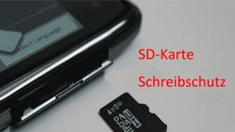 Schreibschutz der SD-Karte